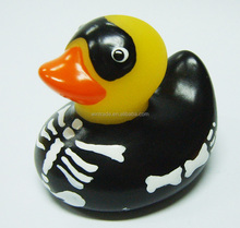 variety duck type scary rubber duck for halloween