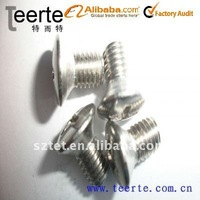 DIN966 stainless steel oval head screw machine
