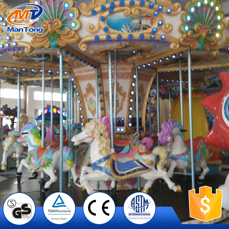 Children Park Antique Carousel Rides For Sale