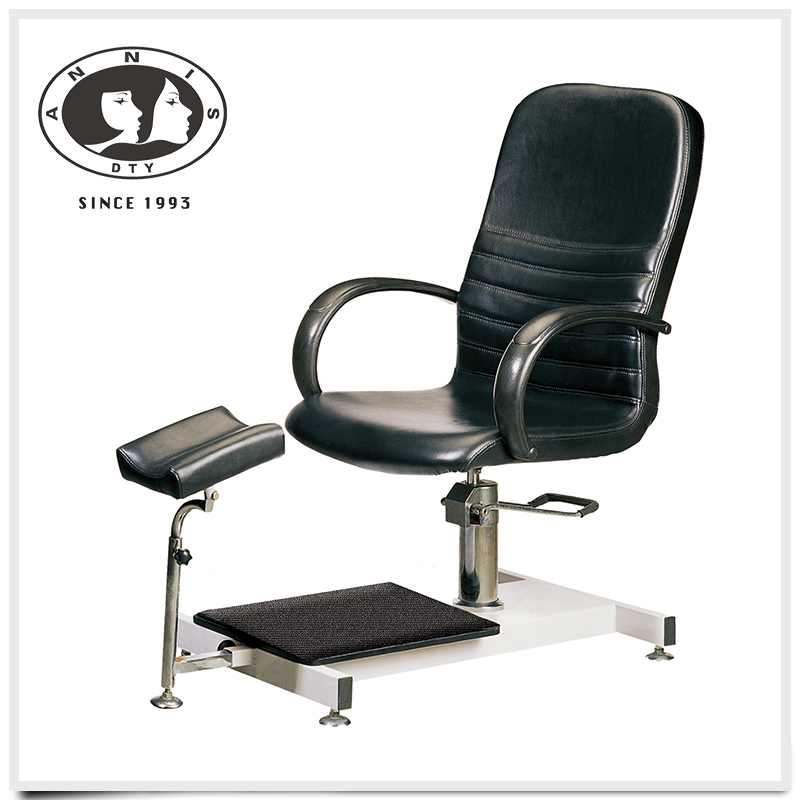 2016 luxury beauty salon adjustable leather cover modern pedicure spa chair for nail