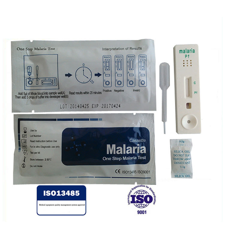 Disposable one step rapid diagnostic malaria rapid test kit