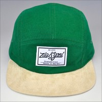 5 panel flat caps/own brand name 5 panel cap