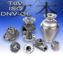 ISO & TUV & DNV & GL certificated investment casting cnc casting parts