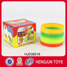 Funny Intellectual rainbow circle,promotion toys