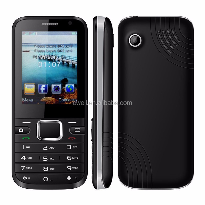Uniwa WG01 2.4 inch QVGA Screen Dual SIM 512MB RAM 1GB ROM Low Cost 3G Mobile Phone