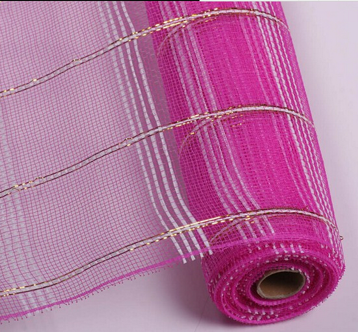 PP mesh /flower wrapping mesh/ decorative plastic mesh for decorating