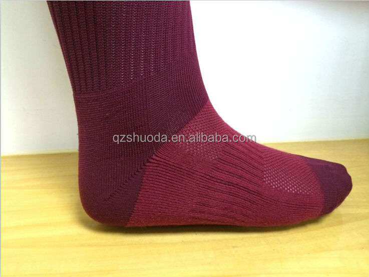 OEM custom socccer socks knee high soccer socks cheap soccer socks