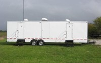 10 STATION PORTABLE RESTROOM TRAILER