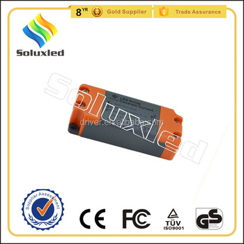 10W Constant Current LED Driver 300mA High PFC Non-stroboscopic With PC Cover For Indoor Lighting