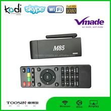 M85 Tv Box 1080P Quad Core S805 Android Smart Tv Stick Dongle Mini Pc Android 4.4 System M85