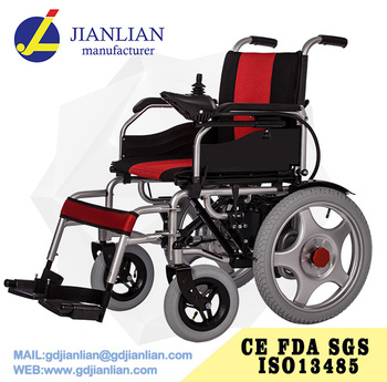 Health&medical folding disabled small electric wheelchair