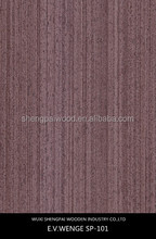 cheap thin american wenge veneer for wooden decoration sale well in home and abroad