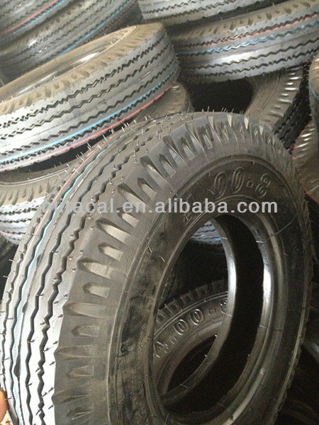 Motorcycle Tricycle Tire / Tricycle Tyre 400x8 and Tubes