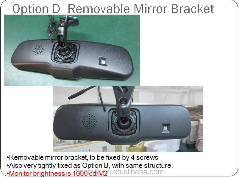 KS0943B Bluetooth rearview mirror 4