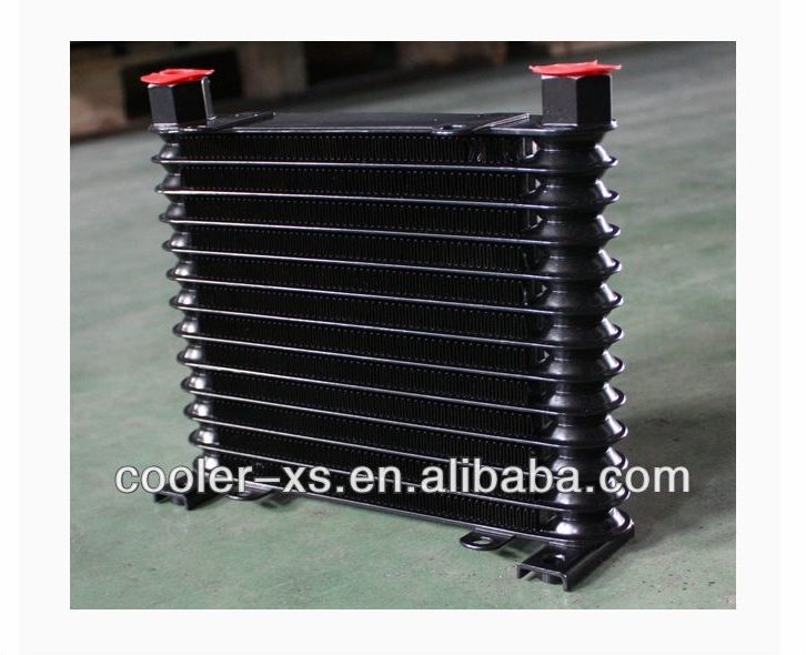 13 ROW aluminum Stacked Plate oil cooler
