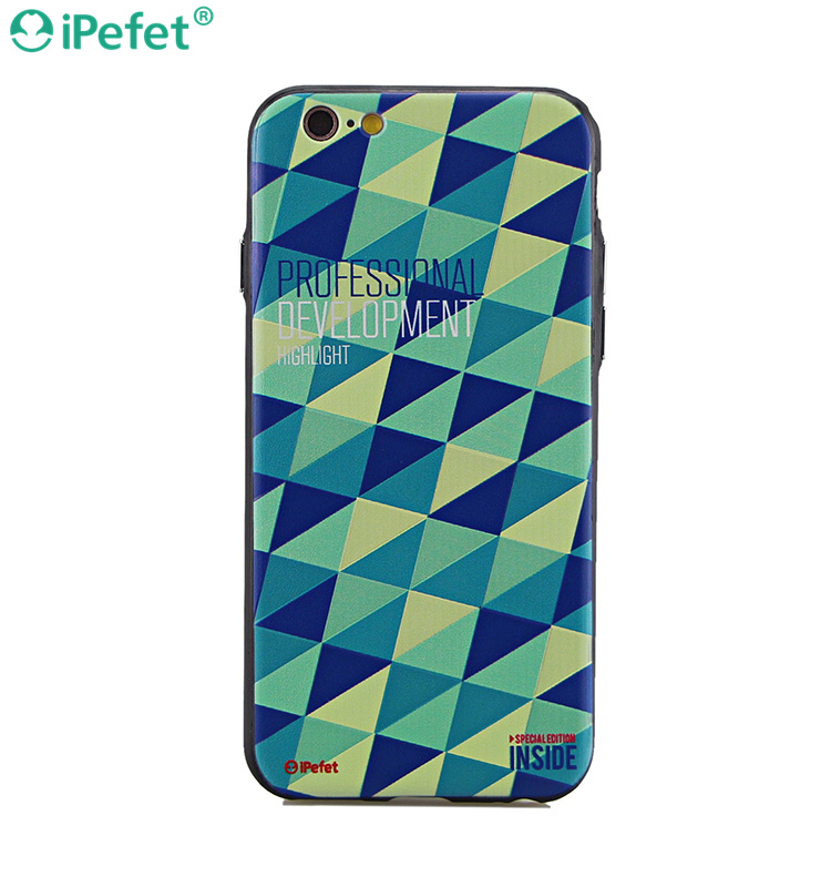 Custom designs OEM printing cell phone case for iPhone 3D sublimation case