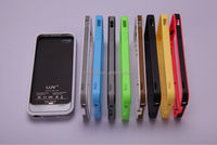 Funny LUV 2500mAh super-thin MFi apple approved power case for iphone5C