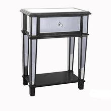 Aesthetic appearance Luxury Classical Collection 1 Drawer Mirroed End Table