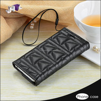 creative fold rock protective wallet phone case for samsung