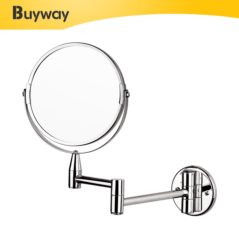 Shaving Makeup Free Standing Wall Mounted Magnifying Mirror