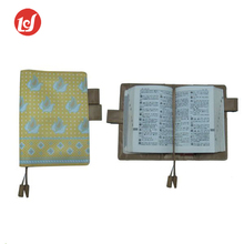 China manufacture reusable vintage leather book cover