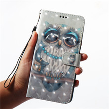For OPPO R9S R11 A59 A57 3D design Flip leather wallet stand case cover For Amazon Seller Mobile Phone Shell