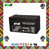 AGM 12V1.2AH dry battery rechargeable battery for UPS
