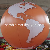Globle printing beach ball ,inflatable beach ball with world map printing