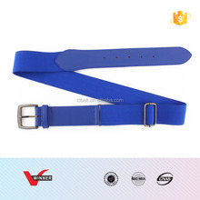 Plain Colors Fashion Elastic Stretch Sport Baseball Belt