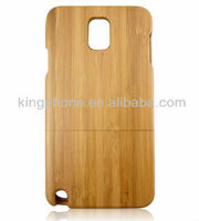 collectable gift bamboo craft wooden case for samsung Galaxy Note 3