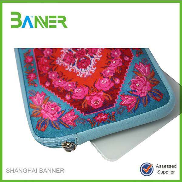 New arrival soft shockproof fashion laptop bags ladies