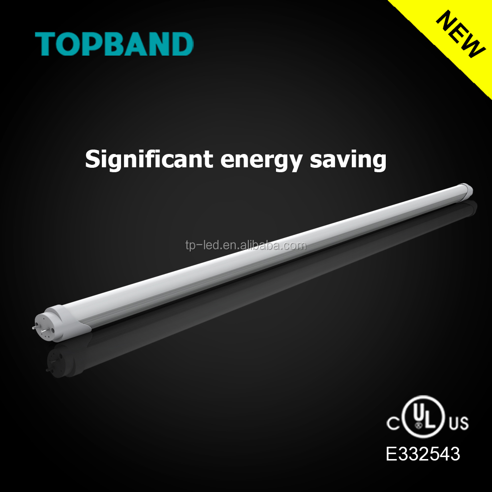 UL Type A+B ballasts compatible and AC100-277V connected 1200mm 4ft tube lighting led zoo tubes