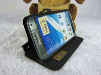 Mobile Phone Case for Samsung Note 2 N7100 Case PU Leather Cover Flip Slim
