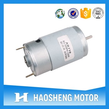 Carbon Brush Motor RS-395 dc brush motor