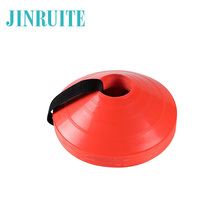 Agility Disc Cone with Plastic Holder - Perfect For Soccer, Football-Disc Mini Training Cones