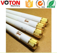 low price hot sell gsm White 12x87mm Portable Rubber cap WiFi GSM/GPRS elbow Antenna with SMA plug Connector