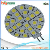 smd 5050 g4 12v led bulb 3w,led g4 mini led lamp 24v