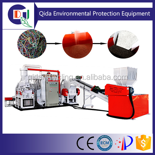 QD-600A High Output Copper and Plastic Separator Machine with factory price
