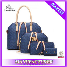 alibaba China fashionable handbags 4 in 1 set
