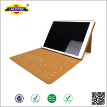 Bluetooth Keyboard PU leater tablet case for iPad Pro With Stand Function