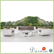 All Weather Used Modern Home Patio Artificial Furniture Garden Sofa