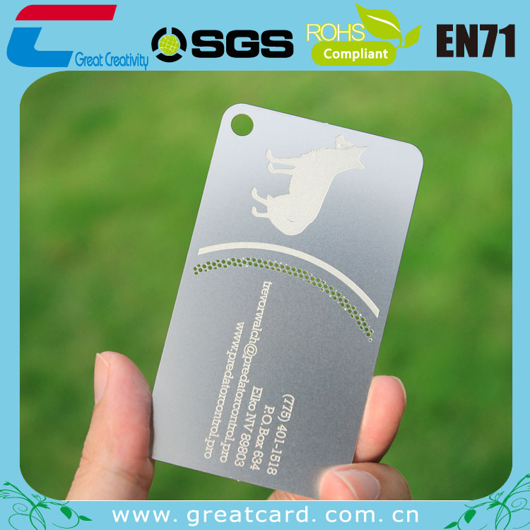 Customized Round Metal Logo Tag