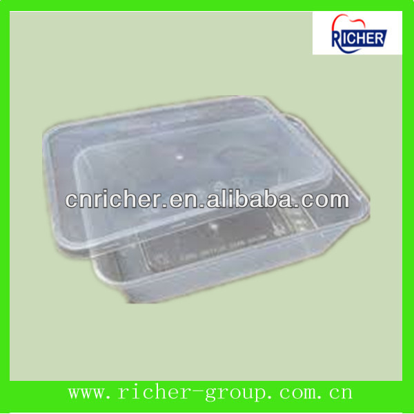 disposable food grade plastic container manufacturer