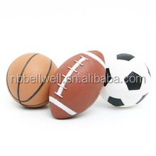Mini 3PK Sports Ball Set For Kids Football Basketball Soccer Ball