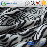 double side brushed coral Fleece 100% polyester knitted fabric