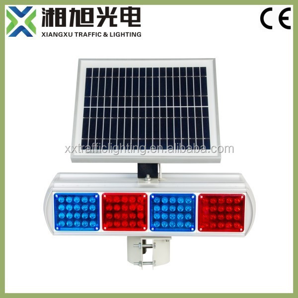 Battery operated Solar LED Traffic Blinker Lighting for sale with CE approved