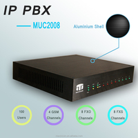 8 Ports IP PBX/mobile signal booster/ pabx telephone system
