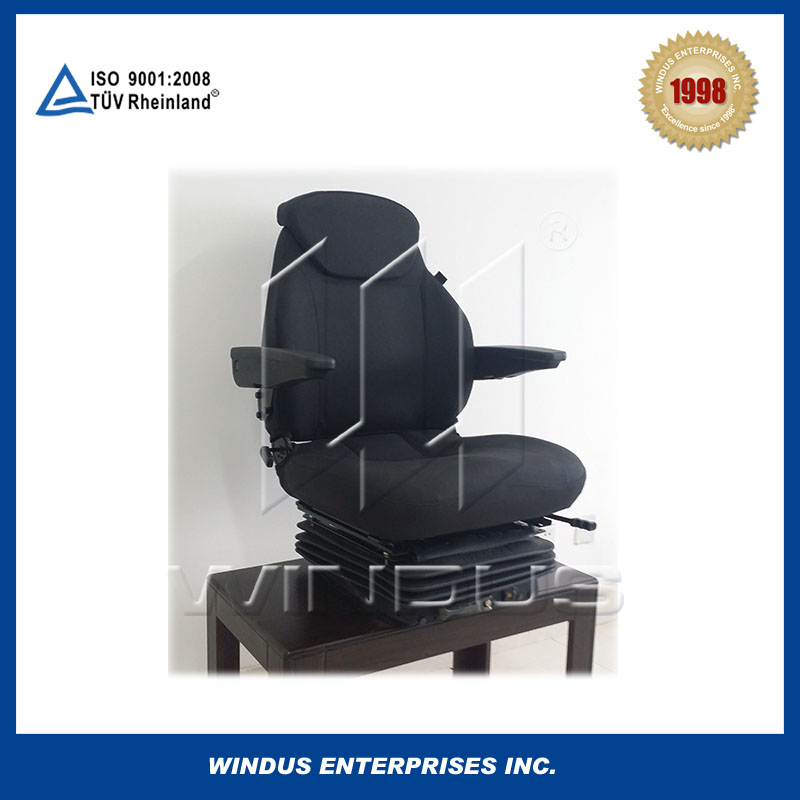 Grammer suspension heavy duty truck suspension seat for driver