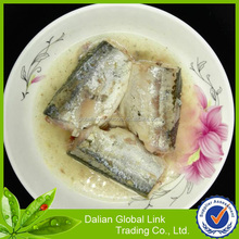 425g chinese canned mackerel <strong>fish</strong> in brine for south america