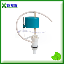 Water tank fill valve for bathroom accessory